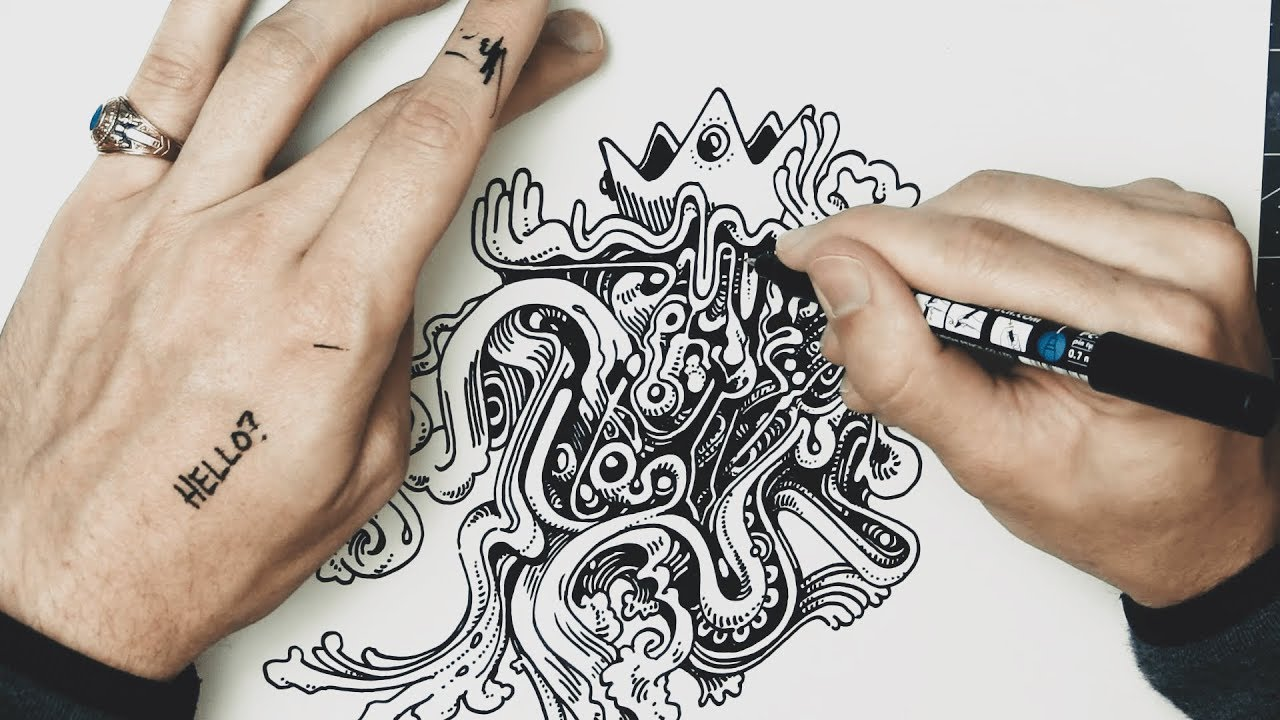 Drawing with Peter Draws: Lessons in Freestyle Swirls ...