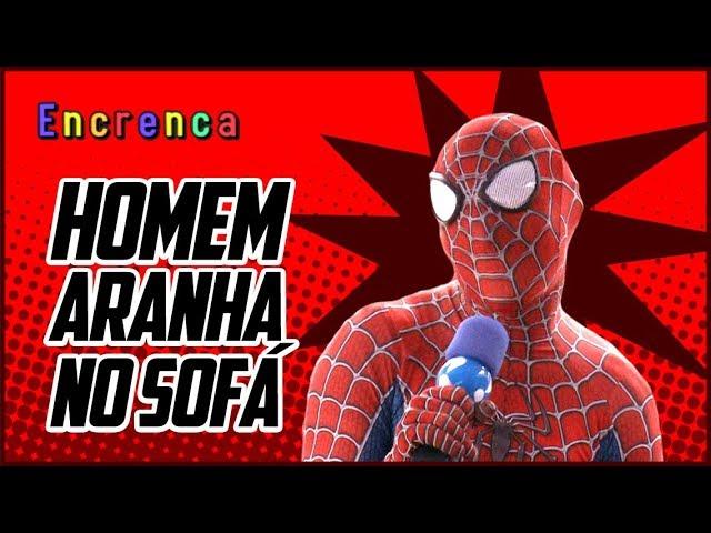 Sofá: Até o homem aranha apareceu!