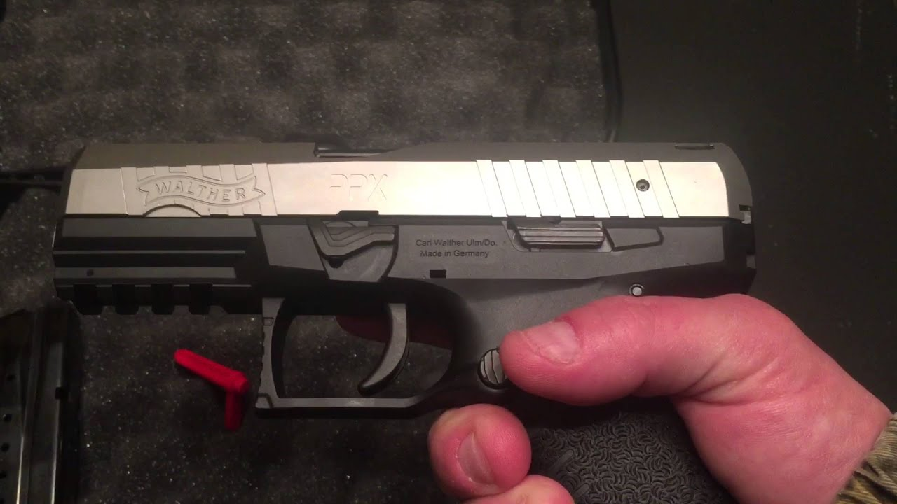 Quick Look: Walther PPX M1  40S&W
