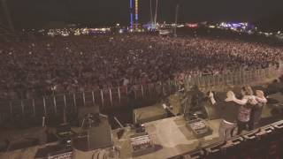 dimitri vegas like mike crowd control left to right at creamfields 2016