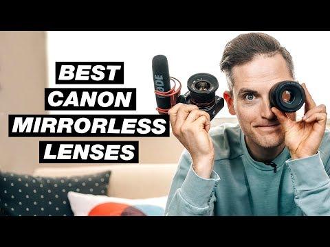 Best Lenses For Canon Mirrorless Cameras (Canon M Lenses)