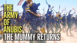 The Army of Anubis (THE MUMMY RETURNS) Explained