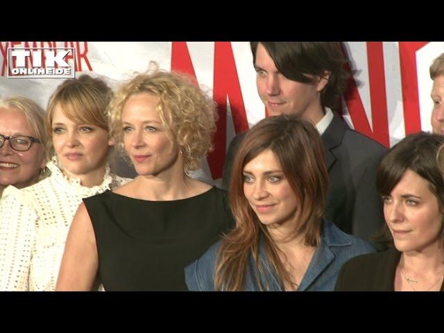 Mängelexemplar-Filmpremiere: Sarah Kuttner total stolz!