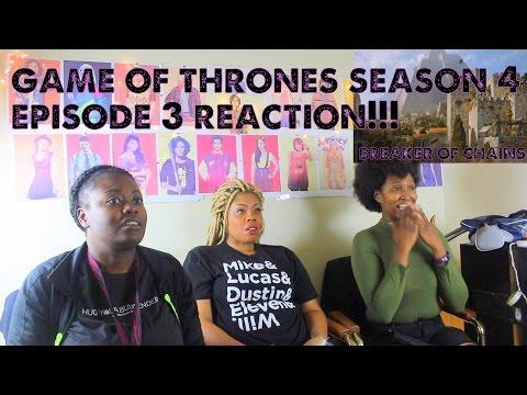 Game Of Thrones Season 4 Episode 3 REACTION!!! Breaker Of Chains