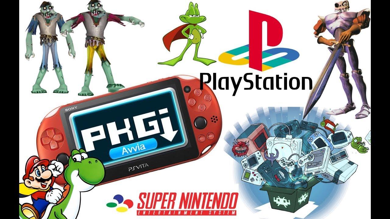 giochi ps1 su ps vita