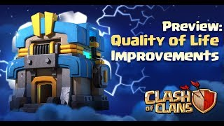 Town Hall 12 Update Quality of Life Improvements
