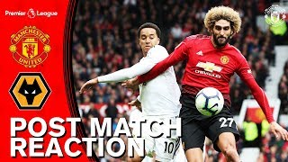 Mourinho and Fellaini Disappointed with Wolves Draw | Manchester United 1-1 Wolves | Reaction