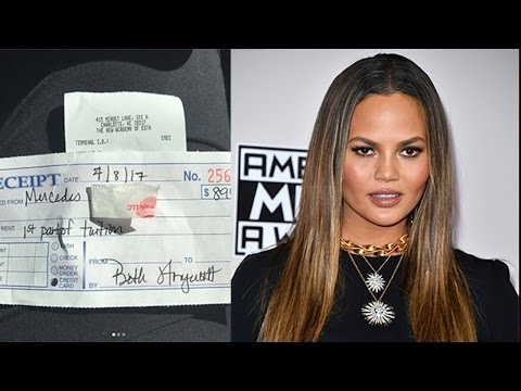 Chrissy Teigen SURPRISES Woman & Pays Off Her Tuition