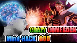 Miracle- Dota2 - UNBELIEVABLE Mind-HACK COMEBACK