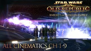 All Star Wars Knights Of The Fallen Empire Cinematics (CH 1-9)