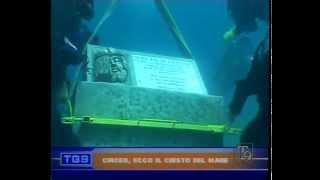 inabissamento Volto di Cristo di Ignazio Colagrossi video t9 tg