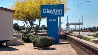 $124,000.00 BEAUTIFUL MODULAR HOME AT CLAYTON HOMES  IN GLENDALE ARIZONA