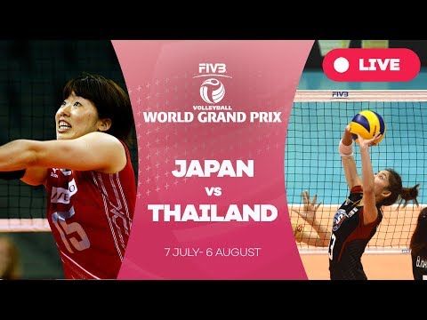 Japan v Thailand - Group 1: 2017 FIVB Volleyball World Grand Prix