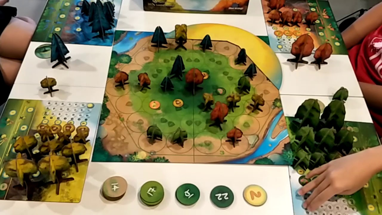 Photosynthesis board game gameplay