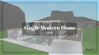 Roblox | Bloxburg: Single Modern Home (116k)