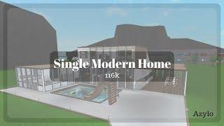 Roblox | Bloxburg: Singolo Modern Home (116K)