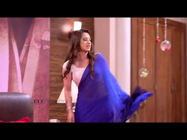 Alisha Panwar Hot in backless saree