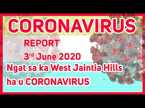 Report 3/6/2020 Ngat Sa Ka West Jaintia Hills Ha U Coronavirus