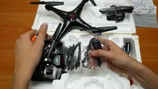 кВАДРОКОПТЕР SYMA X5SW  Распаковка и обзор дрона