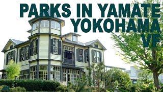 YOKOHAMA PARKS IN YAMATE 4K English sub Vers. française Shot with Fujifilm X-T2, Tokyo Japan