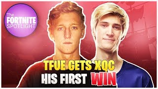Tfue gets xQc His *FIRST* WIN | Daily Fortnite Highlights