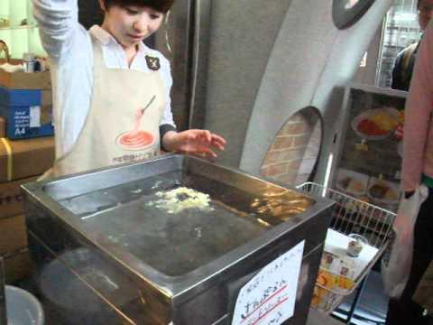 Making Fake Shrimp Tempura