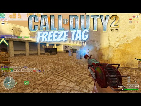 Call of Duty 2 Freeze Tag My New Favourite Game Mode | 4K |