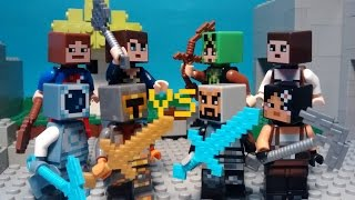Lego Minecraft   The Walls - Faceoff
