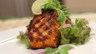 Tandoori Salmon | Cooking Classy with Afraz | Sanjeev Kapoor Khazana