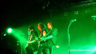 HELLOWEEN - Walls of Jericho + Eagle Fly Free - live in Warszawa 27.03.2013 HD