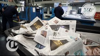 Where It's Made: The Times Newspaper | The Daily 360 | The New York Times