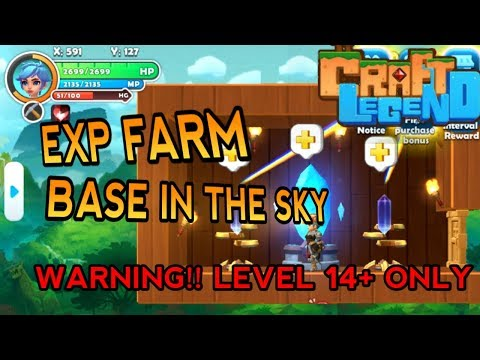FARMING EXP GRINDING MOB OTOMATIS LEVEL UP LEBIH CEPAT - CRAFT LEGEND INDONESIA #16