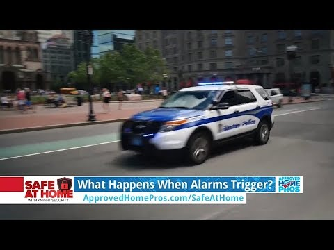 What To Do When Your Alarm is Triggered
