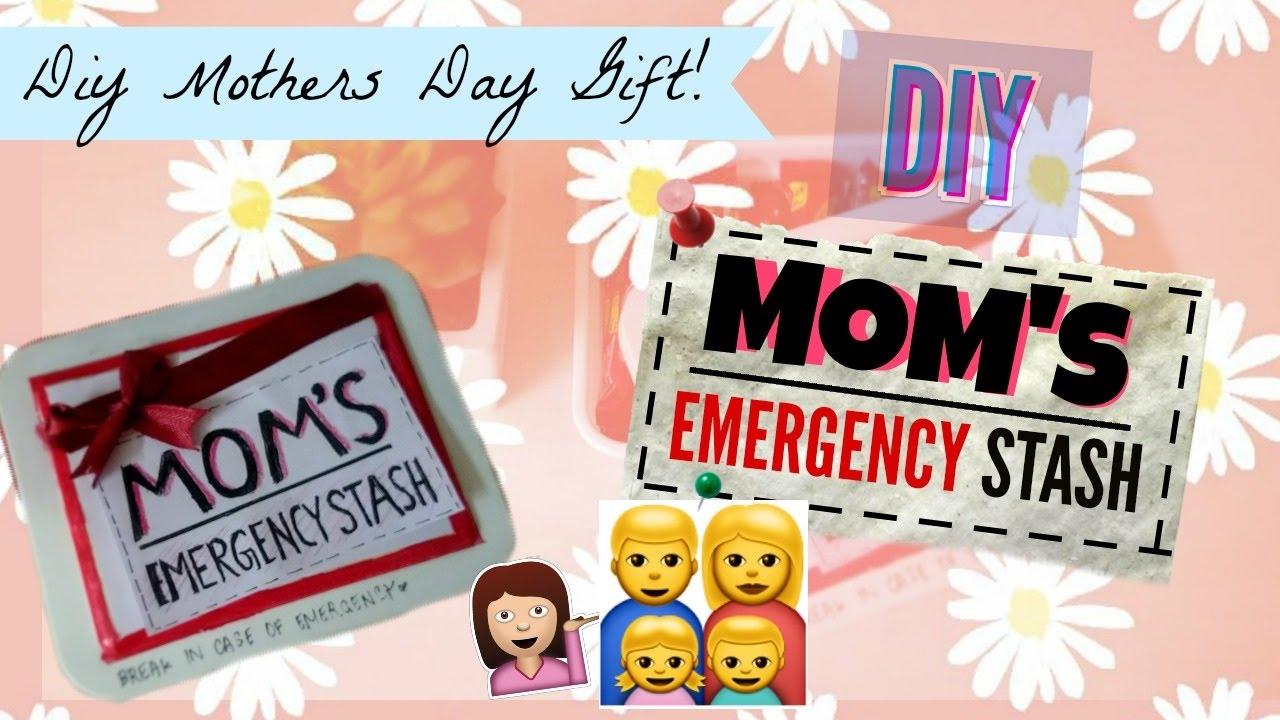 DIY MOM'S EMERGENCY STASH CHOCOLATE BOX,  | DIY Mothers day gift idea |  TheCuteBuddingCrafter