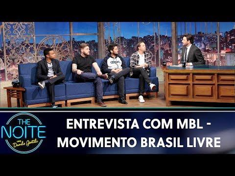 Entrevista com MBL - Movimento Brasil Livre  The Noite 300819