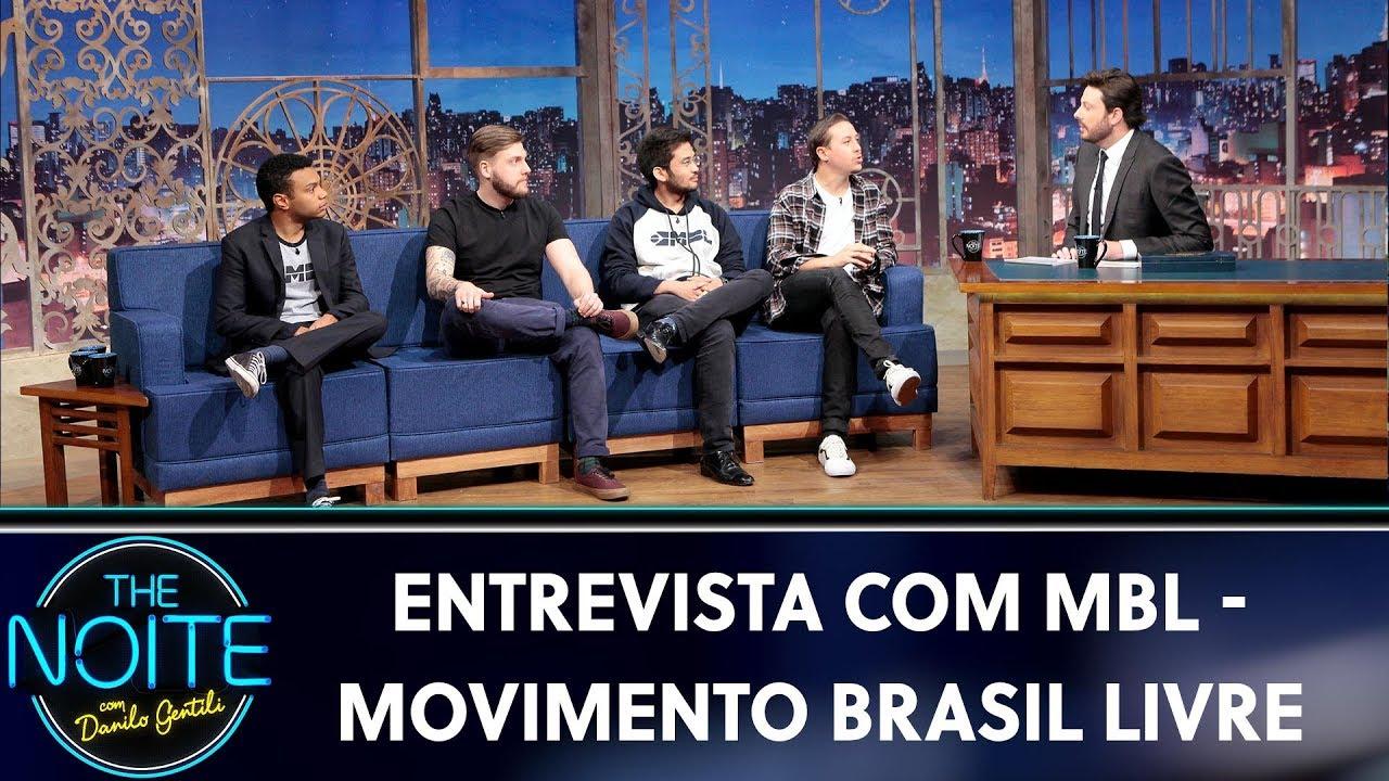 Download Entrevista com MBL - Movimento Brasil Livre   The Noite (30/08/19)