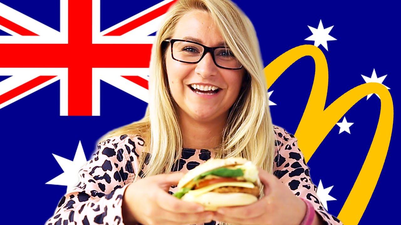 Los estadounidenses intentar australiano McDonald ' s de (Macca)