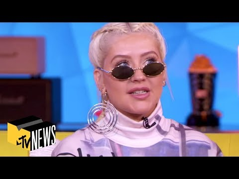 Christina Aguilera Shouts Out Demi Lovato's Incredible Voice | TRL