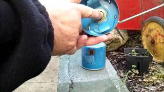 How to fit a bayonet style Gas Canister to your Camp Stove or Cooker