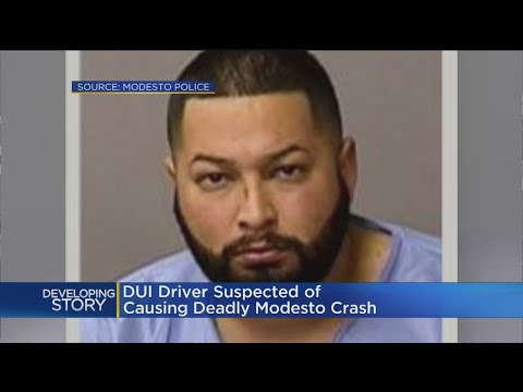 2 Passengers Killed, Driver Arrested After Crash In Modesto; DUI Suspected
