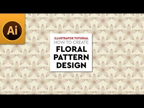 Create Repeating Pattern Design | Floral Repeating Pattern | Adobe Illustrator Tutorial thumbnail