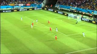 USMNT Ghana 2014 World Cup Full Game BBC Coverage USA