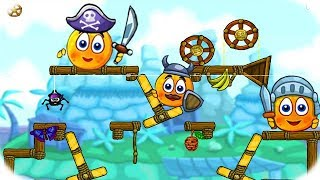 Videos Para Niños - Cover Orange Journey Pirates - Juegos Divertidos Para Niños