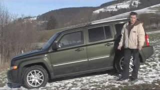 видео Кроссовер Jeep Patriot