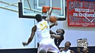 Is This Andrew Wiggins' BEST Dunk Ever?! Pro Hops Hoopmixtape's Defender!
