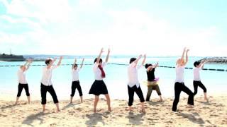 進撃の中学校の修学旅行in沖縄でようかい体操第一を踊りました。 即席で...