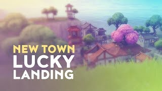 NEW TOWN: LUCKY LANDING & FREE SKINS! (Fortnite Battle Royale)