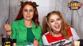 Harley Quinn's YouTube channel - MAKEUP CHALLENGE! The Sean Ward Show