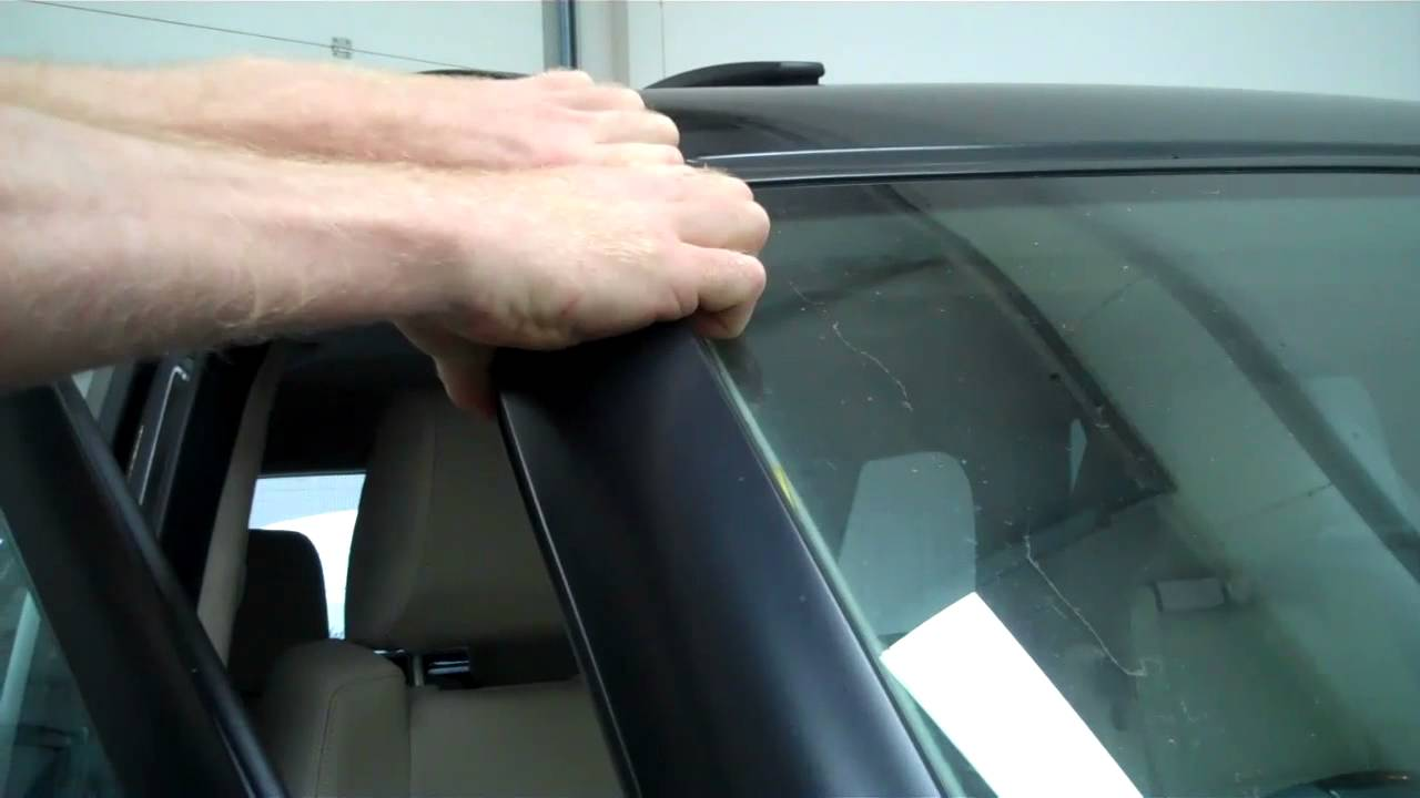 How To Remove The A Pillar On A Range Rover Sport Youtube