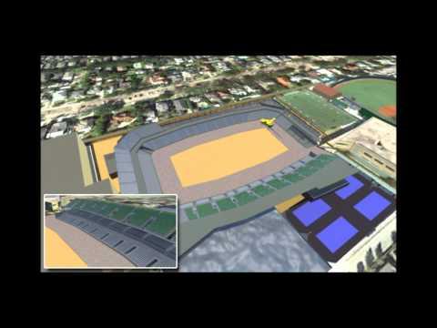 Tulane Stadium Construction Animation